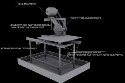 Схема электрического плиткореза со столом