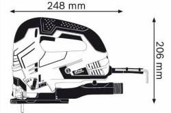 Типовые размеры электролобзиков