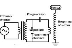 Схема трансформатора дрели