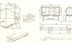 Схема бочки и редуктора