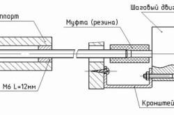 Схема подключения двигателя самодельного станка