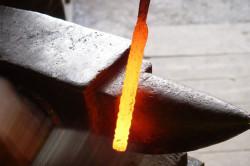 Разогретая сталь