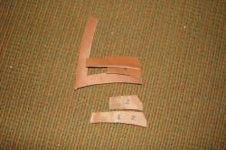 Рисунок 2. Заготовки для чехла