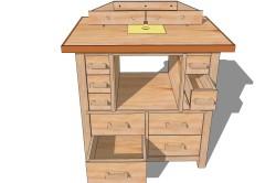 Удобство фрезерного стола для работы
