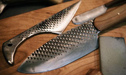 Нож, изготовленный из напильника