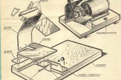 Схема наждака из двигателя от стиральной машины