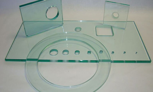 Виды отверстий в стекле