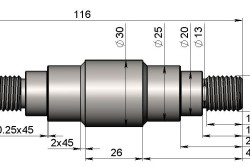 Схема ролика для трубогиба