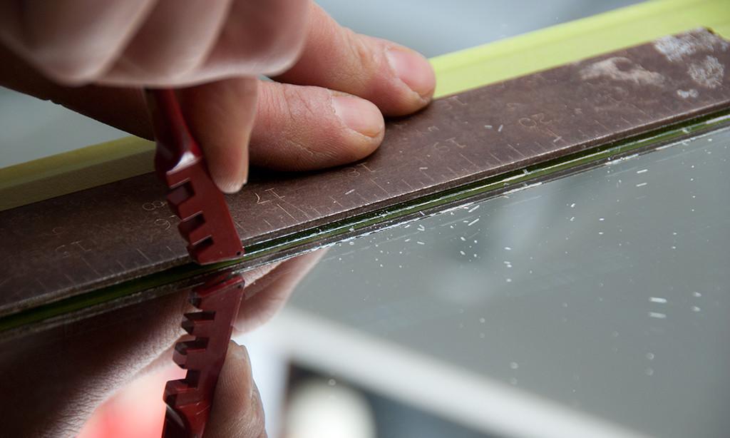 Как фигурно вырезать стекло в домашних условиях 143