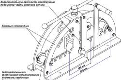 Ручной трубогиб с усиленной конструкцией