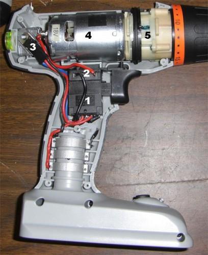Ремонт и запчасти для шуруповерта схема зарядного