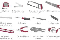 Инструменты для изготовления верстака