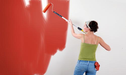 Покраска стен