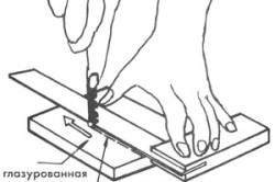 Самодельный плиткорез ручной