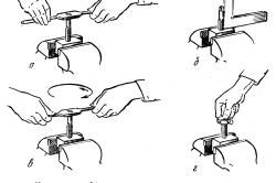 Рисунок 2. Нарезание резьбы метчиком