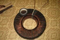 Намотка магнитопровода